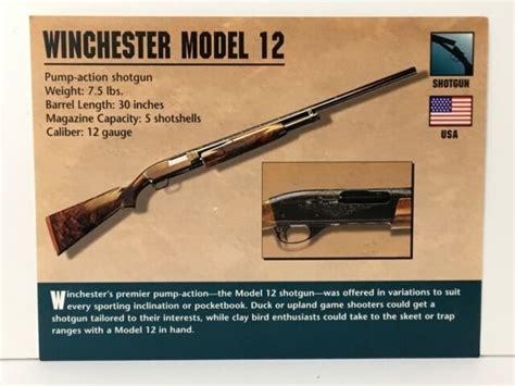 Winchester Model 12 Shotgun History