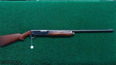 Winchester Model 40 12 Gauge Shotgun