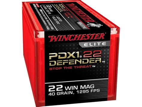 Winchester Pdx1 22 Mag Ammo