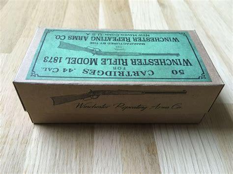 Winchester Rifle Model 1873 Cartridge Box Label