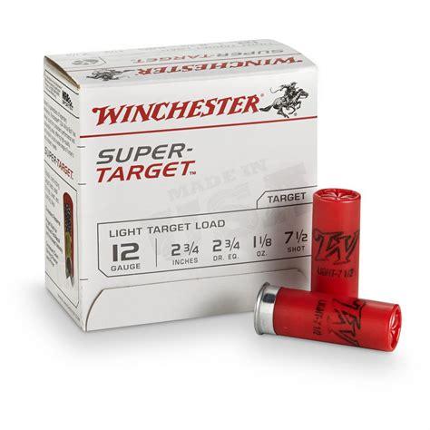 Winchester Supertarget Ammo 12 Ga 23 4 11 8oz 8 Shot