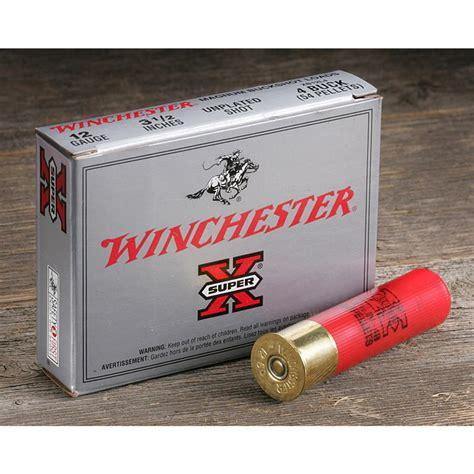 Winchester Superx 20 Gauge 2 3 4 3 Buck 5 Ammo Sale