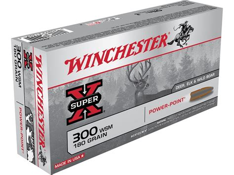 Winchester Superx Ammo 300 Winchester Mag 180 Midwayusa