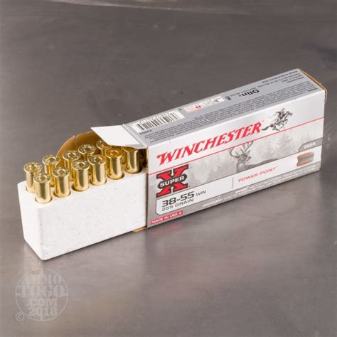 Winchester Superx Ammo 3855 Winchester 255gr Sp 3855 Winchester 255gr Soft Point 20box