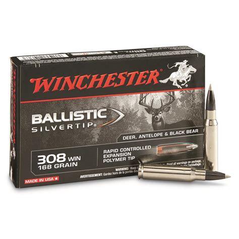 Winchester Supreme Ballistic Silvertip 308 Winchester