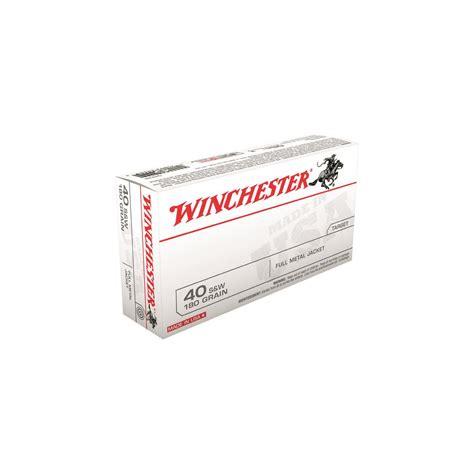 Winchester White Box Ammo 40