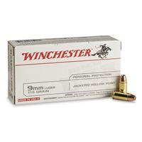 Winchester White Box Jhp 9mm 115gr For Carry Ammo