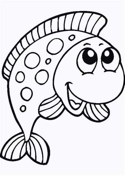 Window Color Fische Malvorlagen
