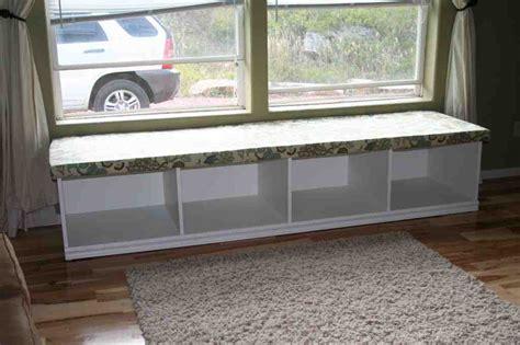 Window storage bench plans Image