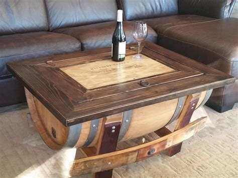 wine barrel coffee table plans.aspx Image