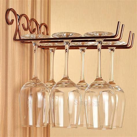 Wine glass rack wall mount Image