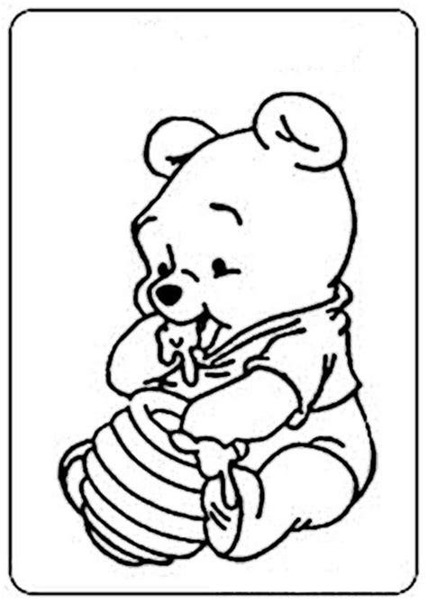 Winnie Pooh Baby Ausmalbilder