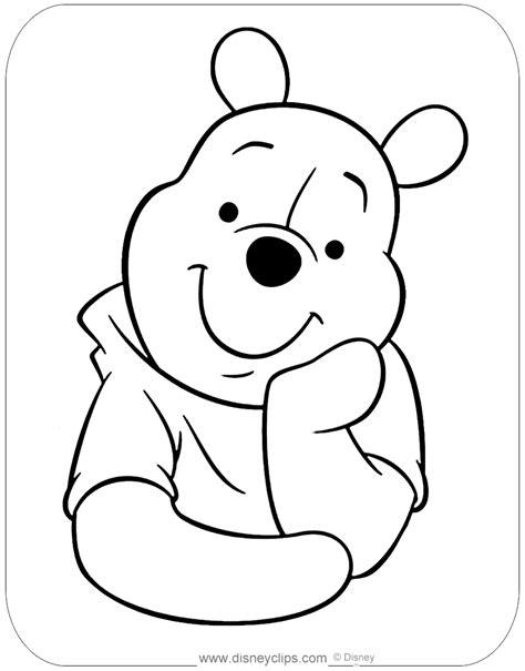Winnie Pooh Kopf Malvorlage