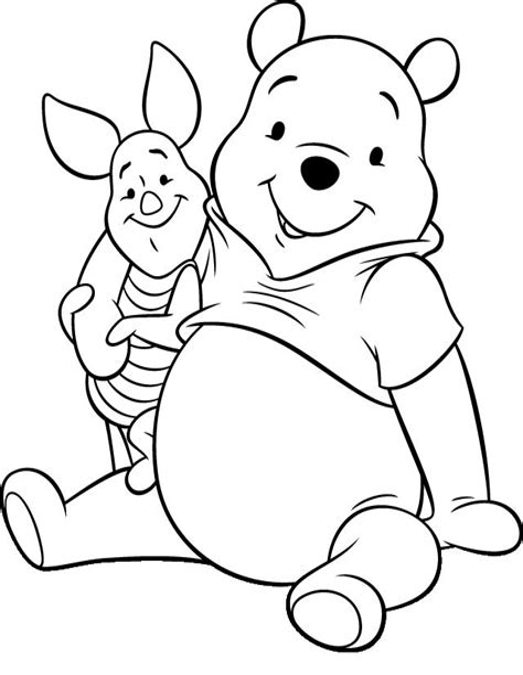 Winnie Pooh Malvorlagen Online