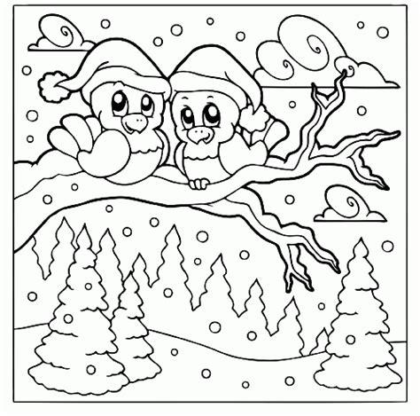Winter Malvorlagen Gratis