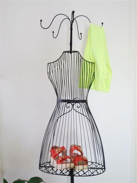 wire mannequin coat rack