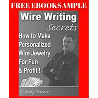 Wire writing secrets how to make personalized wire name jewelry free tutorials