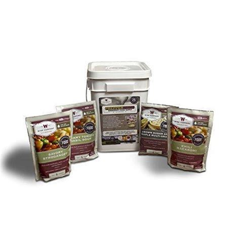 Wise Company 52 Serving Wise Prepper Pack EBay