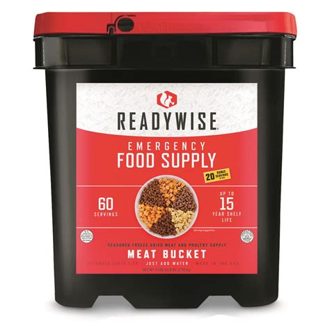 Wise Company Freeze Dried Meat Poultry Bucket 60