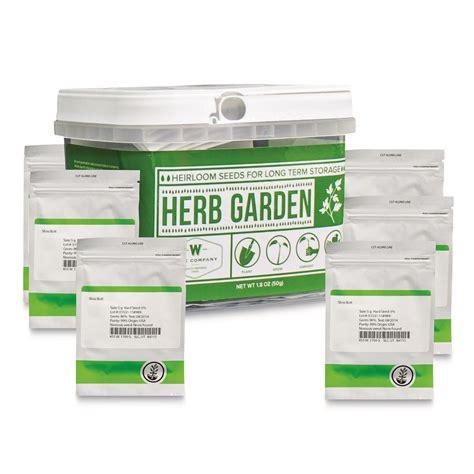 Wise Foods Herb Garden Heirloom Seed Bucket 01-612MV