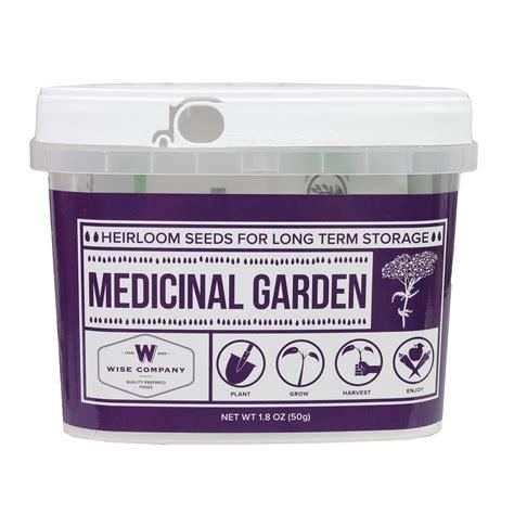 Wise Medicinal Heirloom Seed Bucket