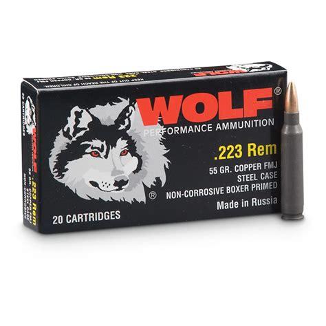 Wolf 223 Ammo Luckygunner Com