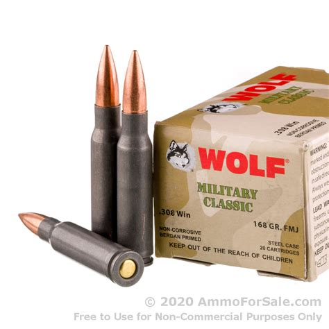 Wolf 308 Ammo For Sale