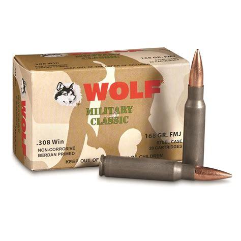 Wolf 308 Bulk Ammo