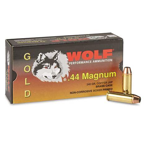 Wolf 44 Mag Ammo Ballistics