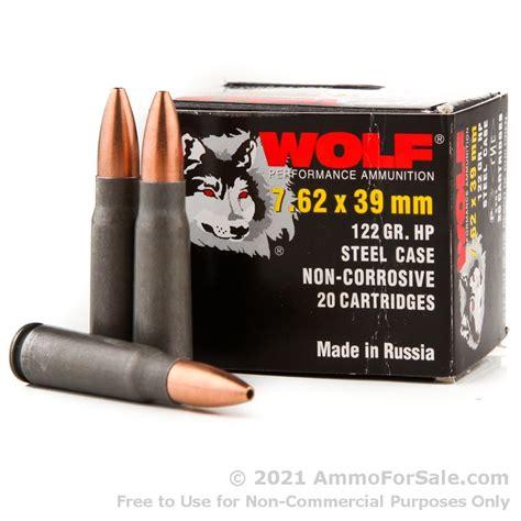 Wolf Ammo 7 62 X39
