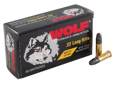 Wolf Brand 22 Long Rifle Ammo