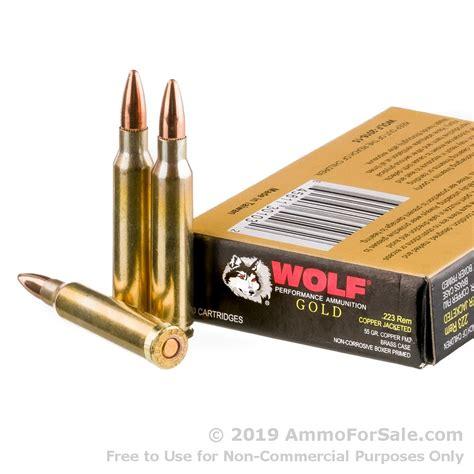 Wolf Bulk Ammo 223