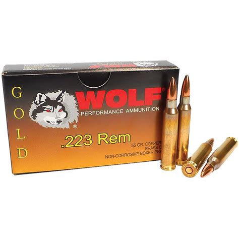 Wolf Gold 223 Remington Ammo And 22 Mag Handgun Ammo