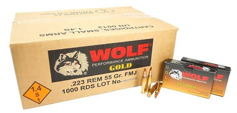 Wolf Gold 5 56 Bulk Ammo For Sale