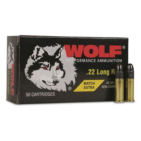 Wolf Mt 22 Ammo