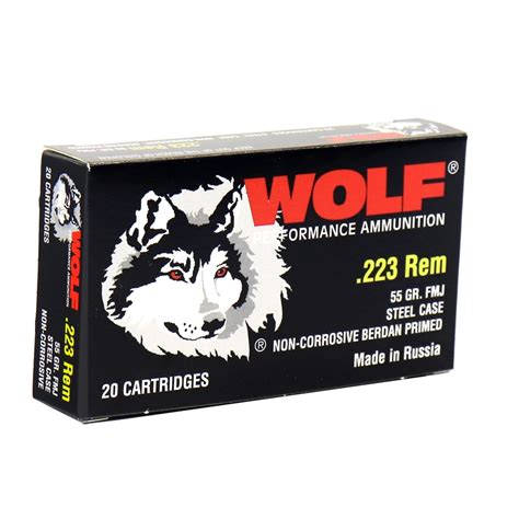 Wolf Performance Ammo 223