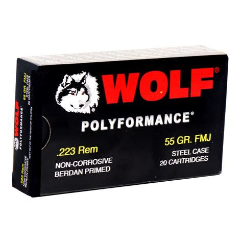 Wolf Steel Case 223 Ammo Review