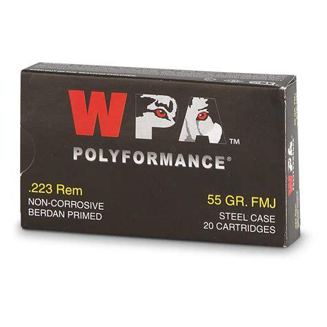 Wolf WPA Polyformance 223 Remington 55 Grain FMJ 500