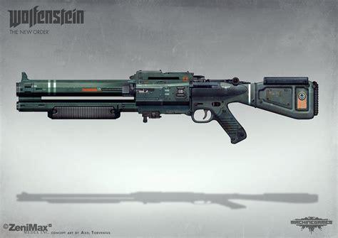 Wolfenstein The New Order Shotgun