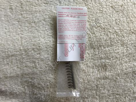Wolff For Kimber 1911 Compact Pro Carry 4 45 ACP