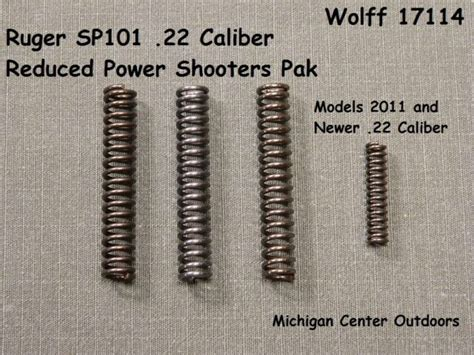 Wolff Trigger Spring Kit For Ruger Sp101 And Best 22 Pistol Ammo