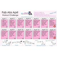 Women s twelve month workout program and meal plan offer