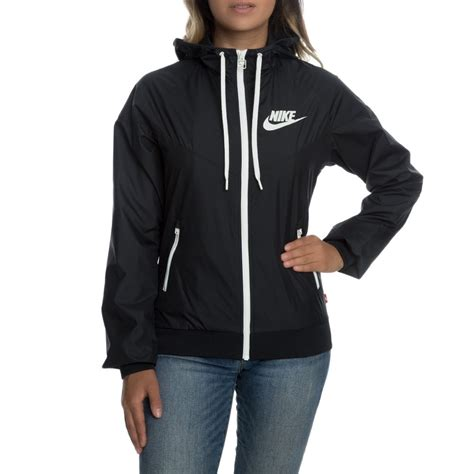 Womens Nike Windbreaker Sportswear Run Windrunner Black
