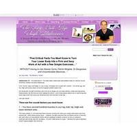 Womens lowerbody makeover, proven product hot market = 75% per sale promotional code