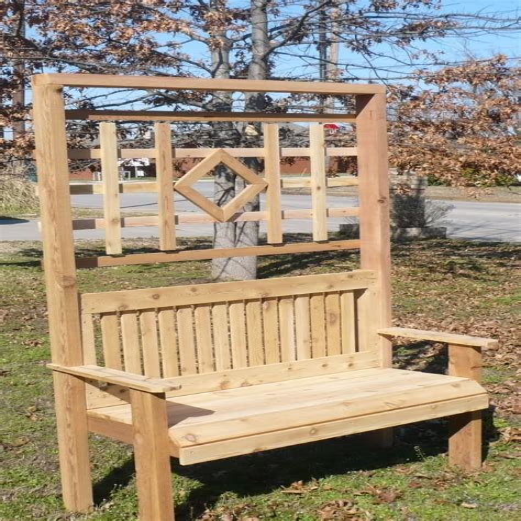 wood bench design.aspx Image