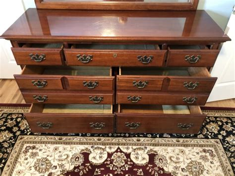 wood cherry dresser.aspx Image