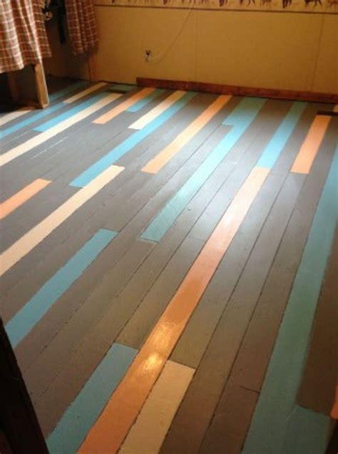 Wood Floor Paint Ideas