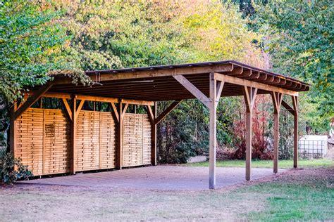 wood framed carport plans.aspx Image