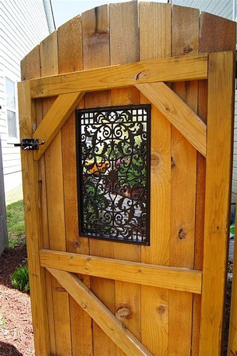 wood garden gate.aspx Image