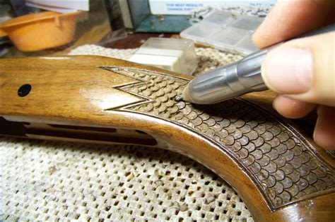 Wood Pistol Grip Rifle Stock